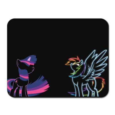 Коврик для мыши Twilight Sparkle / Rainbow Dash