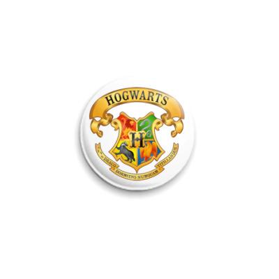 "Значок 25мм  ""Hogwarts"""