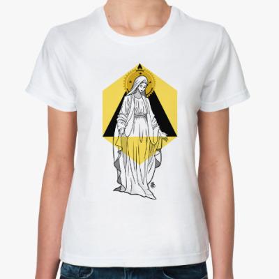 Классическая футболка Дева Мария