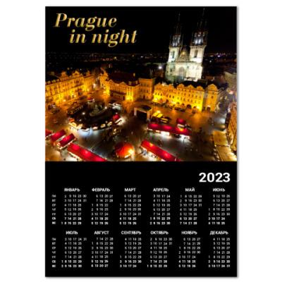 Календарь Ночь в Праге