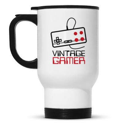 Кружка-термос Vintage Gamer
