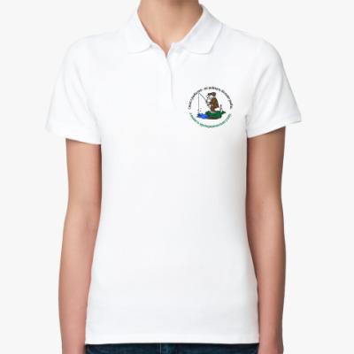 Женская рубашка поло Смысл рыбалки