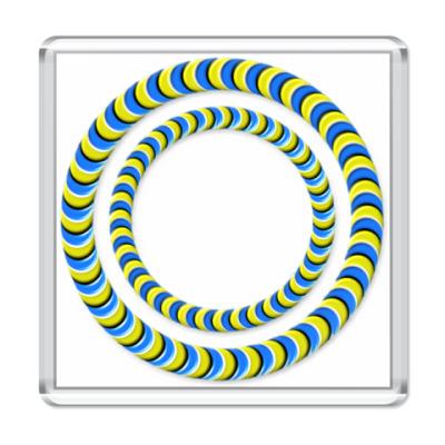 Магнит Иллюзия `Кольца`