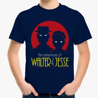 Детская футболка Уолтер и Джесси
