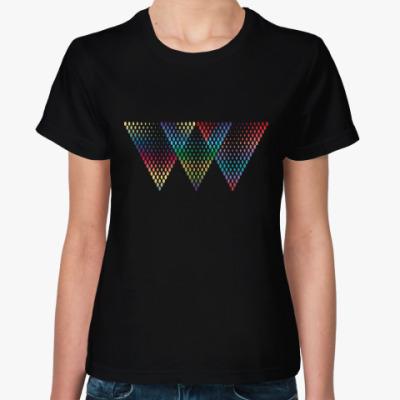 Женская футболка Абстракция