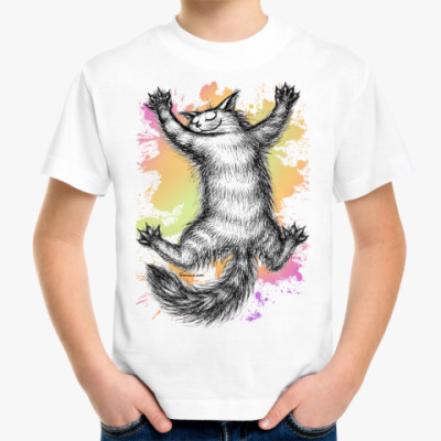 Детская футболка Ласковый зверь