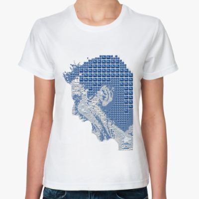 Классическая футболка  photoshop
