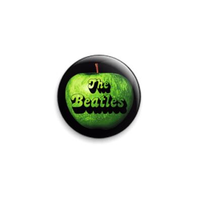 Значок 25мм The Beatles apple