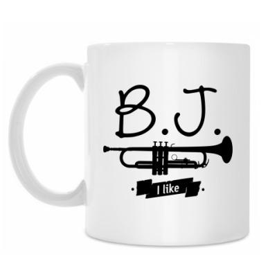 Кружка 'B.J. I like'
