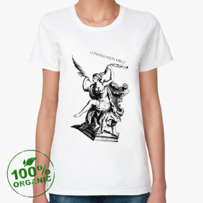 Женская футболка из органик-хлопка Virgo constellation