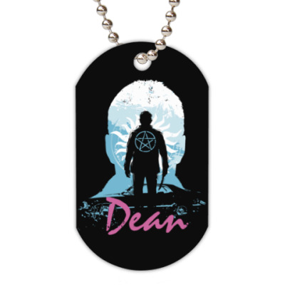 Жетон dog-tag Dean - Supernatural