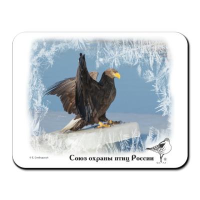 Коврик для мыши Новогодний орлан
