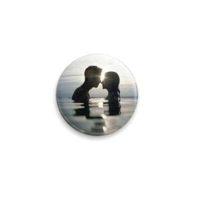 Значок 25мм Kiss