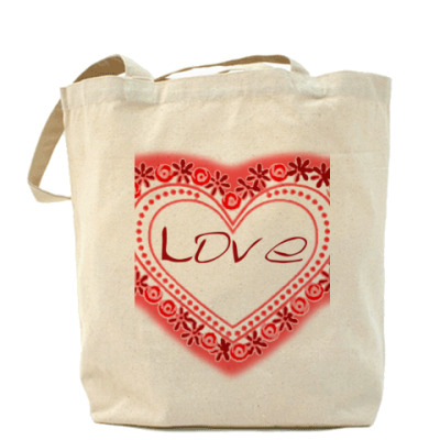 Сумка Любовь в сердце