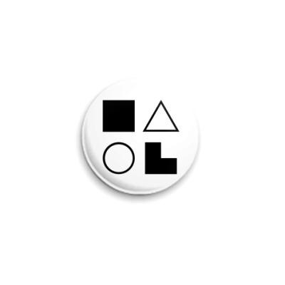 Значок 25мм  ЛИЭ (Джек Лондон)