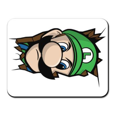 Коврик для мыши Луиджи Марио