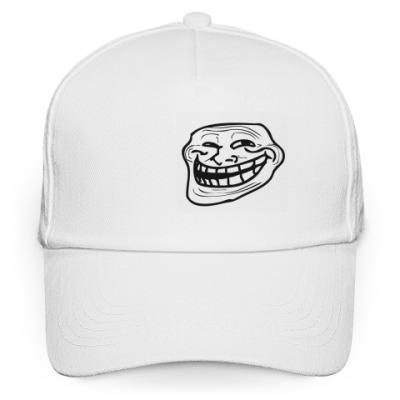 Кепка бейсболка Trollface