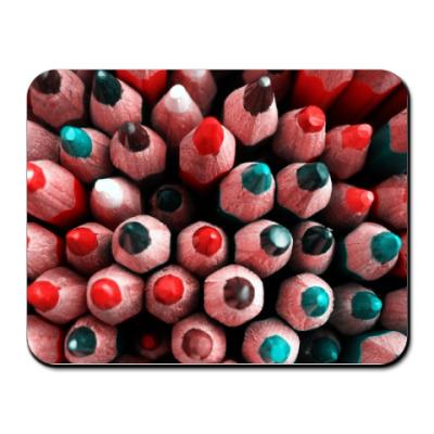 Коврик для мыши карандаши
