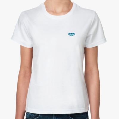 Классическая футболка Жен (бел) likeness.ru