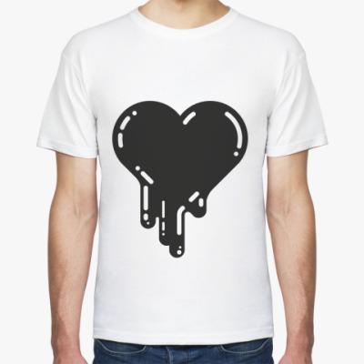 Футболка Чёрное сердце