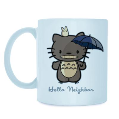Кружка Hello Totoro