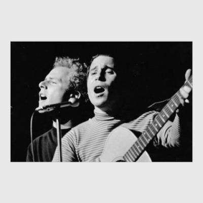 Постер Simon and Garfunkel Саймон и Гарфункел