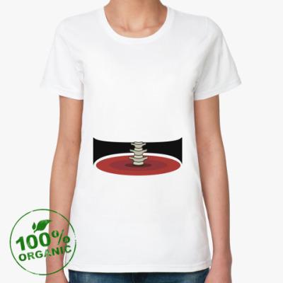Женская футболка из органик-хлопка Талия