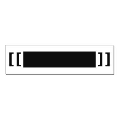 Наклейка (стикер) [[██████]]