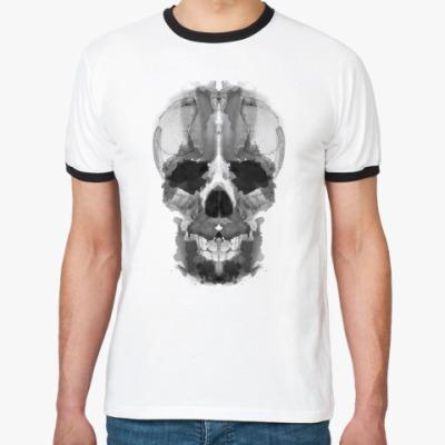 Футболка Ringer-T skull