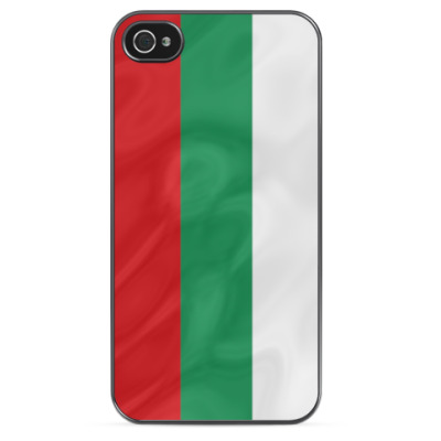 Чехол для iPhone Флаг Болгарии