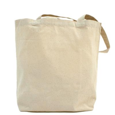 Холщовая сумка Logo+QR