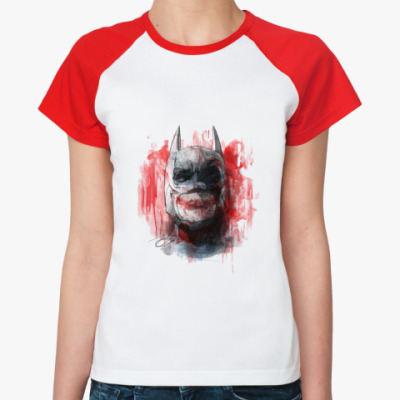Женская футболка реглан Хочу на Марс!