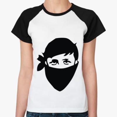 Женская футболка реглан Shake it