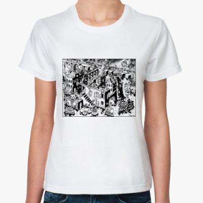 Классическая футболка Город 2