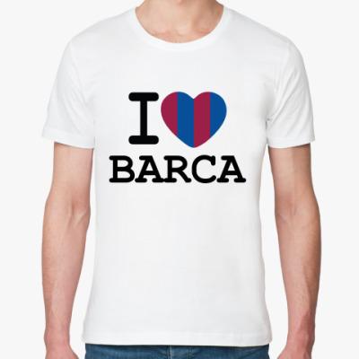 Футболка из органик-хлопка I Love Barca