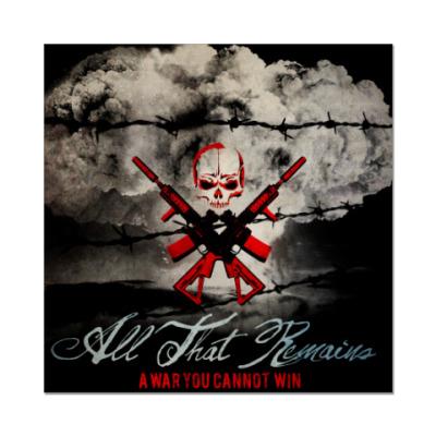 Наклейка (стикер) All That Remains