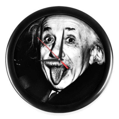 Настенные часы Albert Einstein