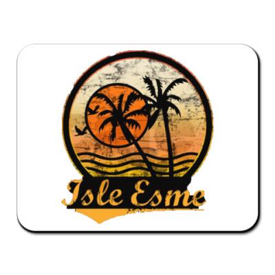 Коврик для мыши Isle Esme, остров Эсме