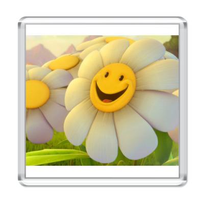 Магнит  Smile Flower