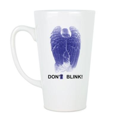 Чашка Латте W.Angel Don't blink двусторон.