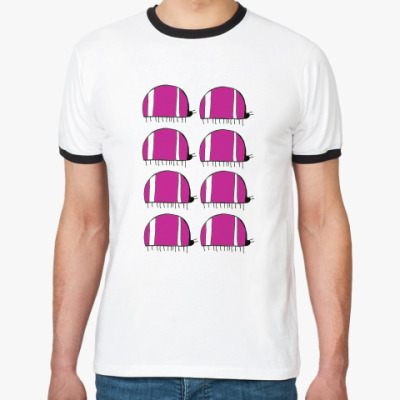 Футболка Ringer-T шесть жуков