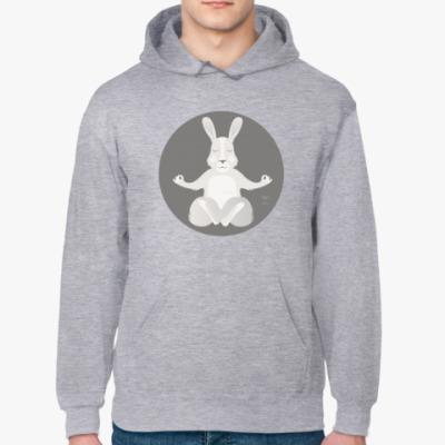 Толстовка худи Animal Zen: R is for Rabbit