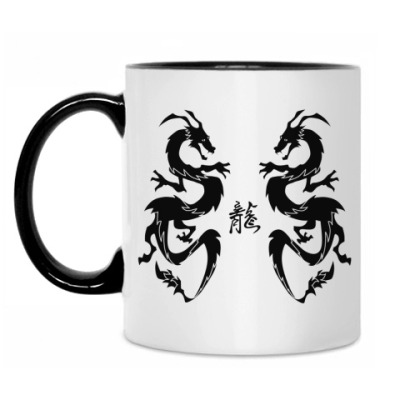 Кружка Black dragons