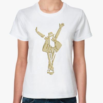 Классическая футболка MJJ Yellow&Gold