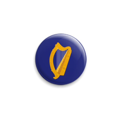 Значок 25мм  'Герб Ирландии'