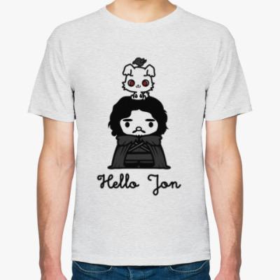 Футболка Hello Jon Snow