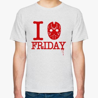Футболка I Hate Friday