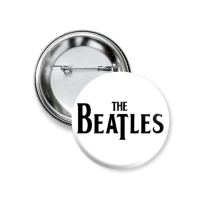 Значок 37мм  The Beatles (мал)