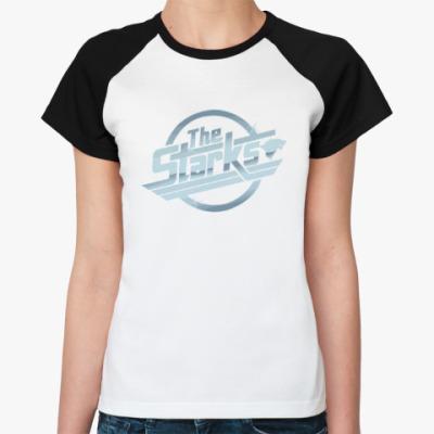 Женская футболка реглан The Starks