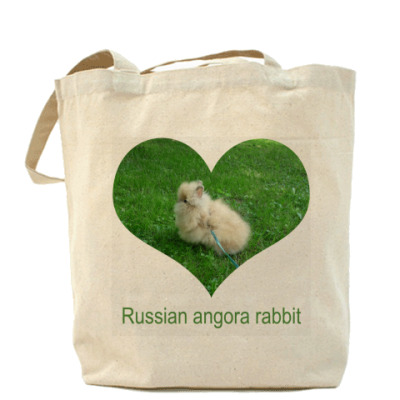 Сумка Russian angora rabbit